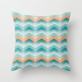 WAVY CHARLY Throw Pillow