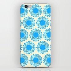 Vintage Flower_Turquoise iPhone & iPod Skin