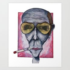Gonzo Hunter Art Print