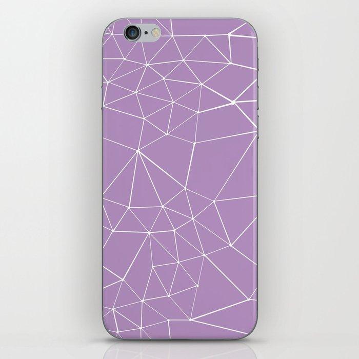 Segment Zoom Orchid iPhone Skin
