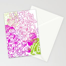 Floral minmal Stationery Cards