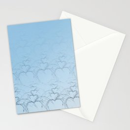 New Year Hearts Stationery Cards