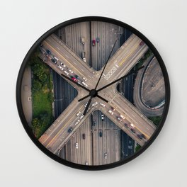 Boren and Pine Wall Clock
