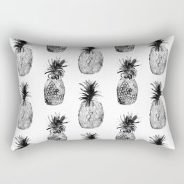 Black-and-white pineapples Rectangular Pillow