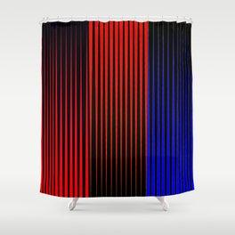 Carlos Cruz-Diez Fanfic Shower Curtain