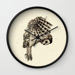 Flying Owl Wall Clock