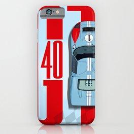 GT40 Ken Miles Top Tribute iPhone Case