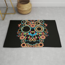00 - STEAMPUNK BLACK Rug