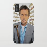 house md iPhone & iPod Cases featuring House MD - Colored Pencil Sketch Style by ElvisTR