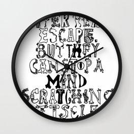 David Mitchell  Wall Clock