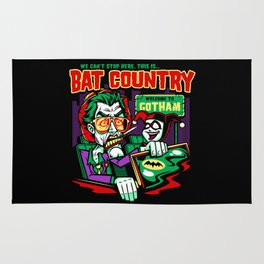 Harley's Bat Country Rug