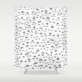 The Eye-Roll Shower Curtain