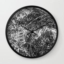 Straw ashes ~hai~ Wall Clock