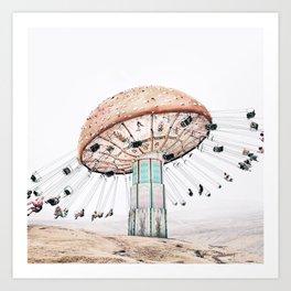Mushroom Carousel Kunstdrucke
