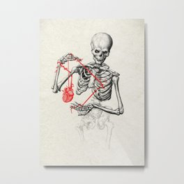 I need a heart to feel complete Metal Print