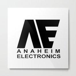 Anaheim Electronics Metal Print