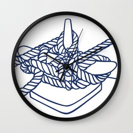 Knotical (WHITE) Wall Clock