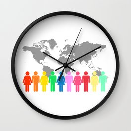 Be Engaged in Sharing the Gospel of Christ Wall Clock