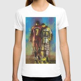 CristianoRonaldo & LeoMessi T-shirt