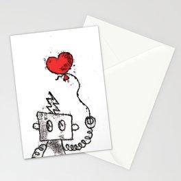 Robot Love Stationery Cards