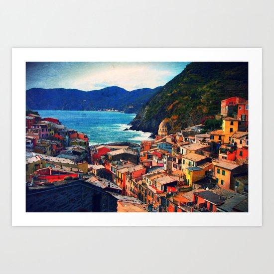 Coasting  Art Print