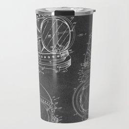 Diving Helmet - Patent #3,353,534 - H. J. Savoie Jr. - 1967 Travel Mug