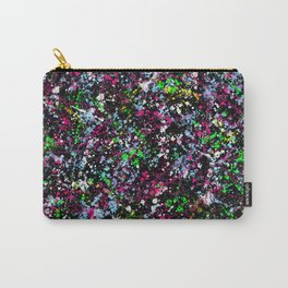 paint drop design - abstract spray paint drops 5 Carry-All Pouch