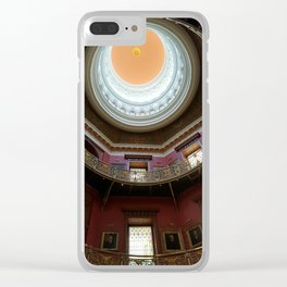 New Jersey's Capital Dome - Interior Clear iPhone Case