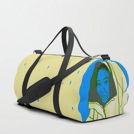 Blue Face Duffle Bag