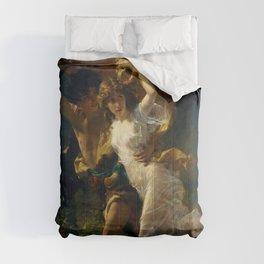 """Pierre Auguste Cot """"The Storm (La Tempête)"""" Comforters"""