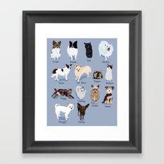 14 Dogs & Kitties Framed Art Print