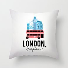 London, England Throw Pillow