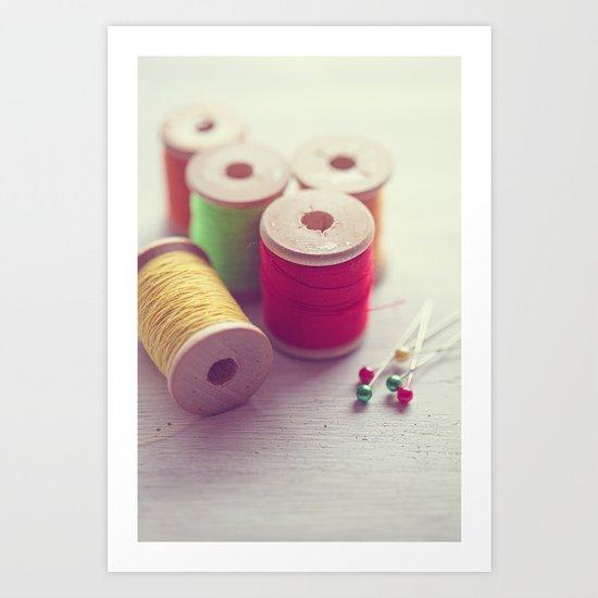 It's the simple things... Art Print