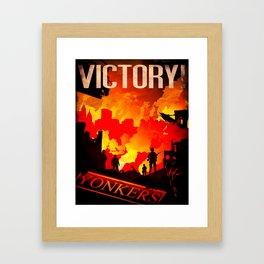 World War Z Framed Art Print