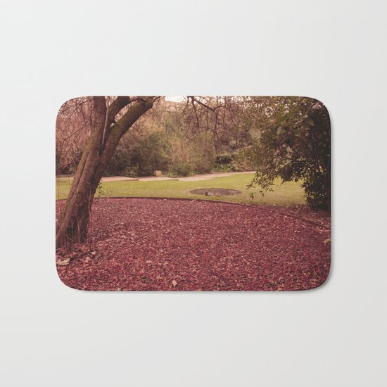 One Fall Afternoon Bath Mat