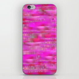 Lines ~ Abstract  Pink iPhone Skin