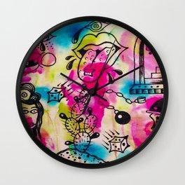 Strange Daze Wall Clock