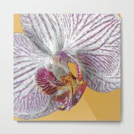 Flore Metal Print