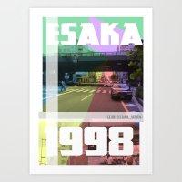 Esaka Summer Art Print