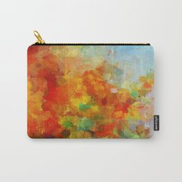Abstract and Minimalist Landscape Painting Carry-All Pouch