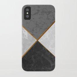 Concrete Marble Mix #5 #texture #decor #art #society6 iPhone Case