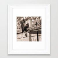 eagle Framed Art Prints featuring Eagle by Sébastien BOUVIER