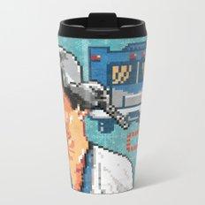 Shitter Was Full Metal Travel Mug