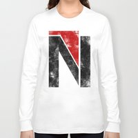 n7 Long Sleeve T-shirts featuring N7 new logo by BomDesignz