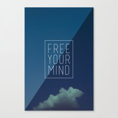 Free Your Mind II Canvas Print