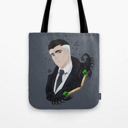 Percival Graves & Scorpion Collar Pin Tote Bag