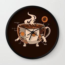 Coffeezilla X-ray Wall Clock