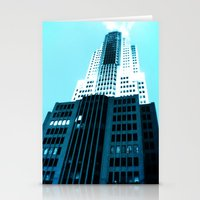 comic book Stationery Cards featuring Comic Book Chicago by A/B Photography