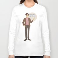 doctor who Long Sleeve T-shirts featuring Doctor Who by Pulvis