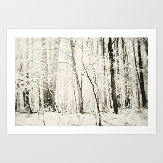 Hundred Acre Woods Art Print